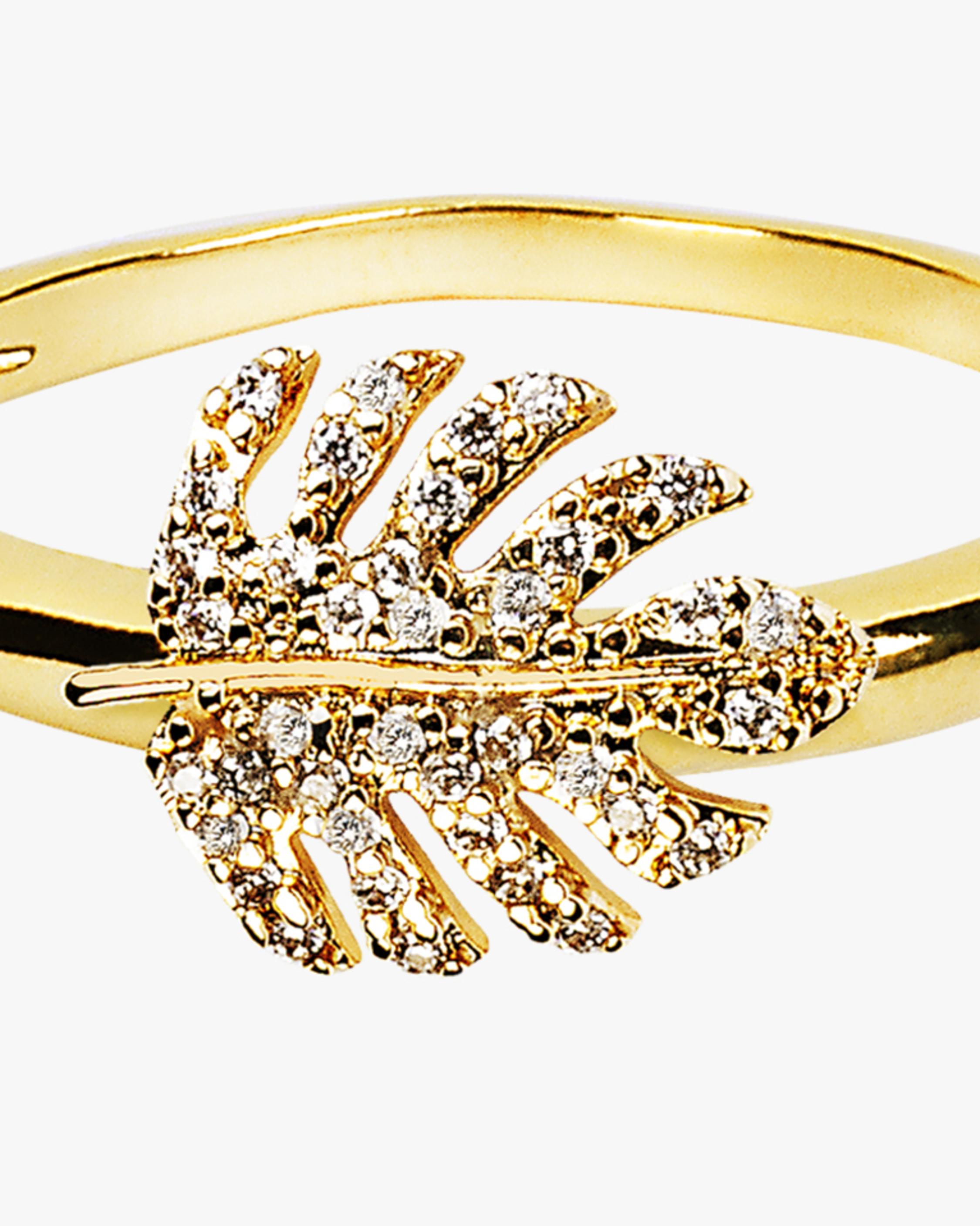 Essere Adam's Rib Petit Diamond Ring 1