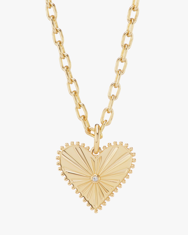 Marlo Laz Toujours Heart Pendant Necklace 0