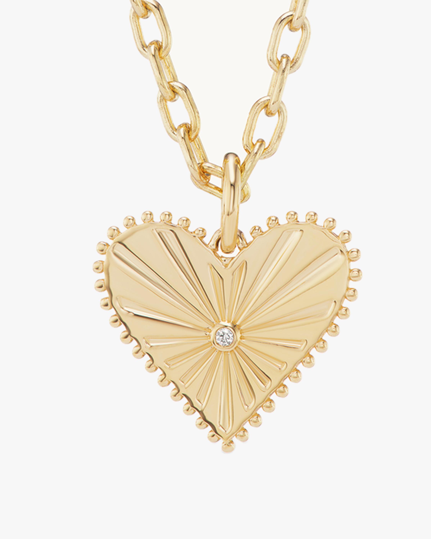 Marlo Laz Toujours Heart Pendant Necklace 2