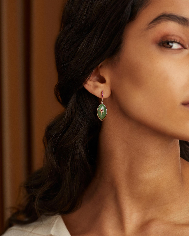 Marlo Laz Micro Eyecon Drop Earrings 2