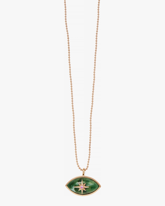 Marlo Laz Micro Eyecon Pendant Necklace 1