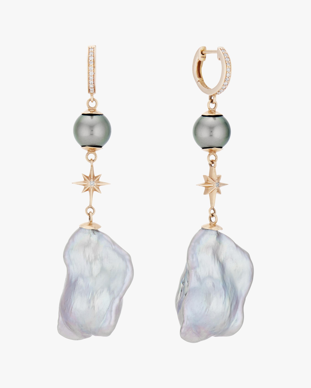 Marlo Laz Baroque Elixir Drop Earrings 1