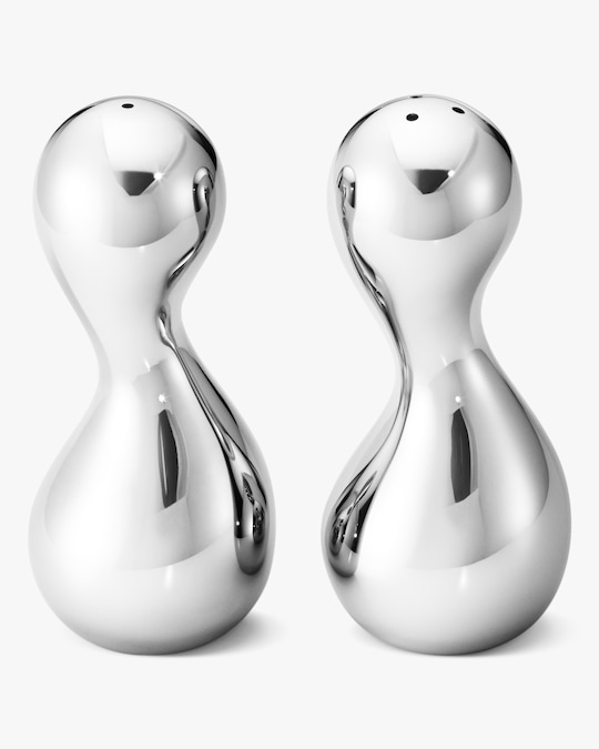 Georg Jensen Cobra Salt & Pepper Shaker Set 0