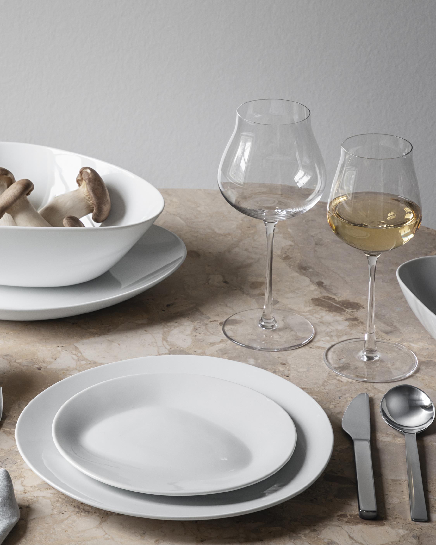 Georg Jensen Sky Crystal White Wine Glass - Set of Six 1