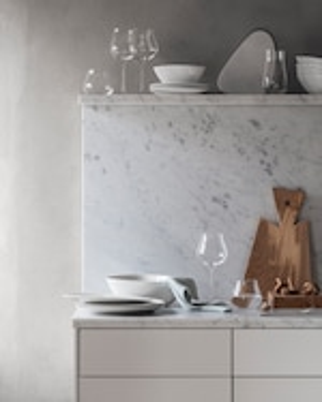 Georg Jensen Sky Crystal White Wine Glass - Set of Six 2