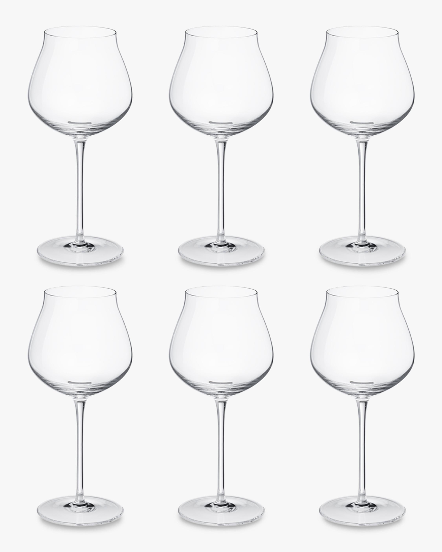 Georg Jensen Sky Crystal Red Wine Glass - Set Six 4