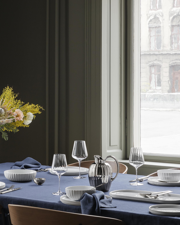 Georg Jensen Bernadotte White Wine Glass - Set of Six 1
