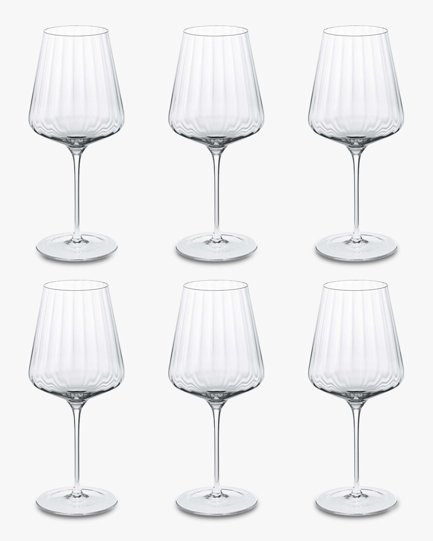 Georg Jensen Bernadotte Red Wine Glass - Set of Six 4
