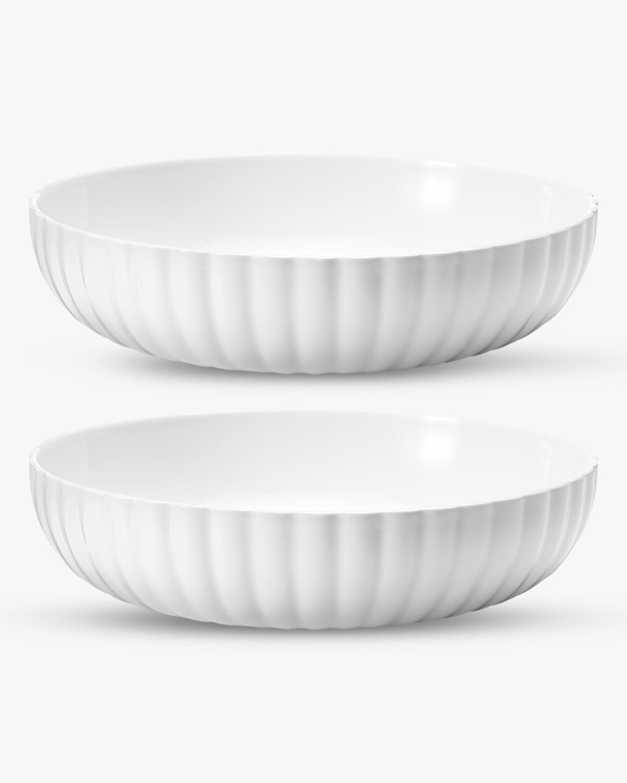 Georg Jensen Bernadotte Pasta Bowl - Set of Two 1