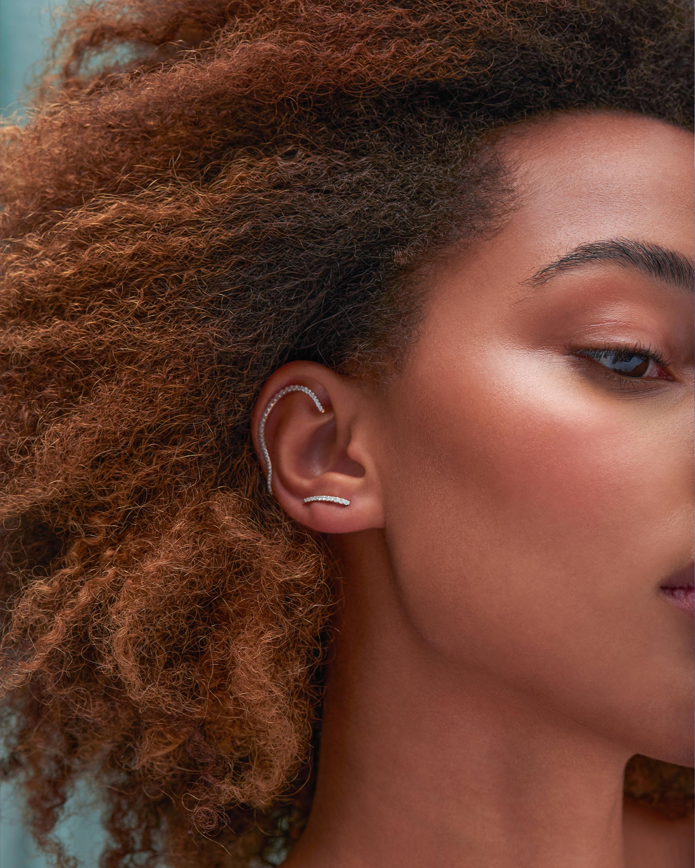 Marie Mas Single Queen Wave Ear Jewel 2