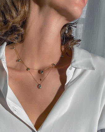 Marie Mas Swinging Chain Necklace 2