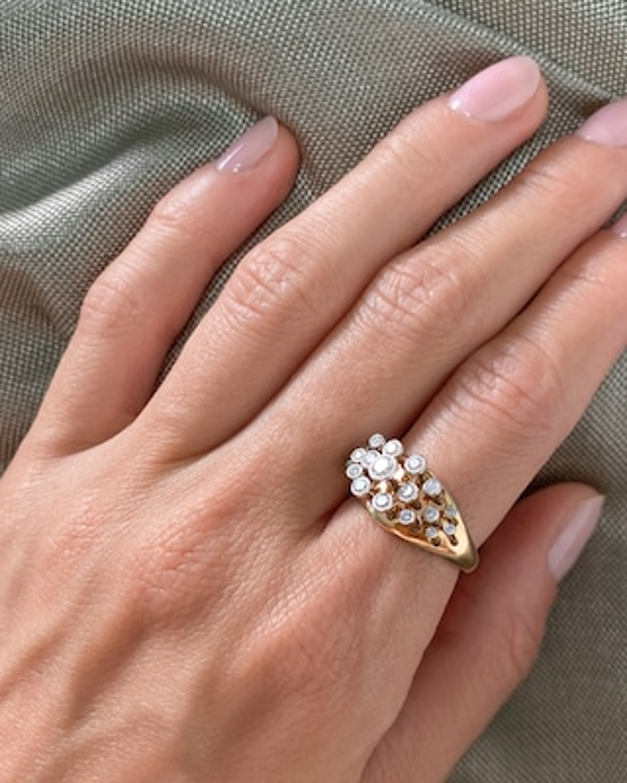 Marie Mas Queen Wave Ring 2