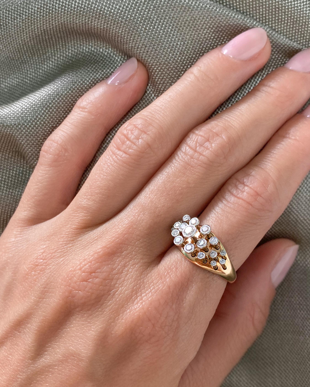 Marie Mas Queen Wave Ring 1