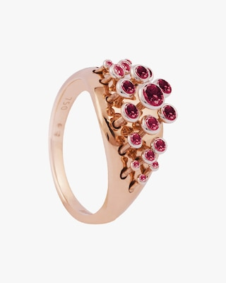 Marie Mas Ruby Queen Wave Ring 2