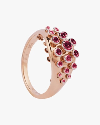 Marie Mas Ruby Queen Wave Ring 1