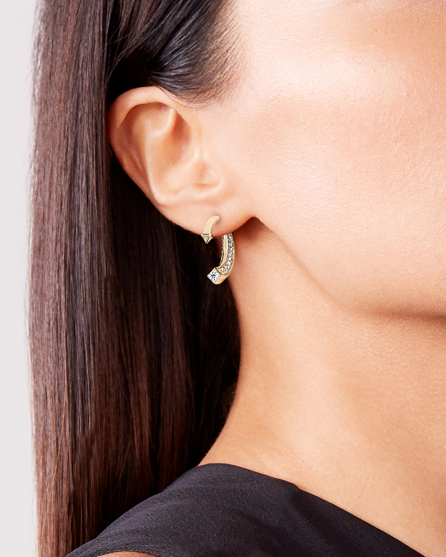 De Beers Forevermark Forevermark Avaanti™Arc Pavé Earrings 2