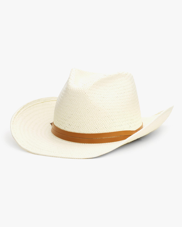 rag & bone Ohara Straw Cowboy Hat 0