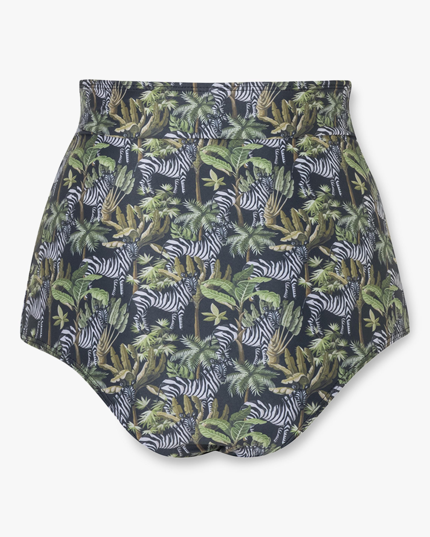 Verde Limón Totorri High-Waist Bikini Bottom 1