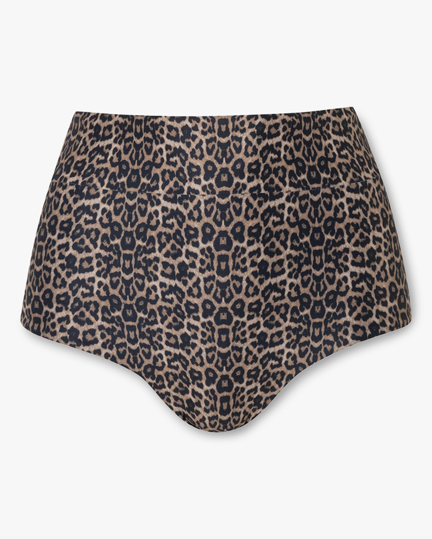 Verde Limón Valladolid High-Waist Bikini Bottom 1
