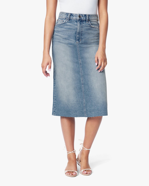 Joe's Jeans The A-Line Denim Skirt 2