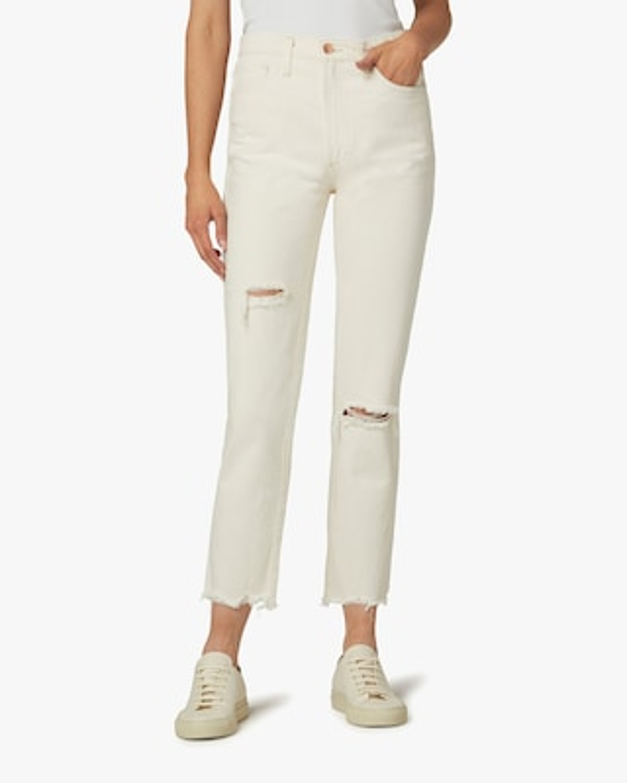 Joe's Jeans The Honor Frayed-Hem Pants 2
