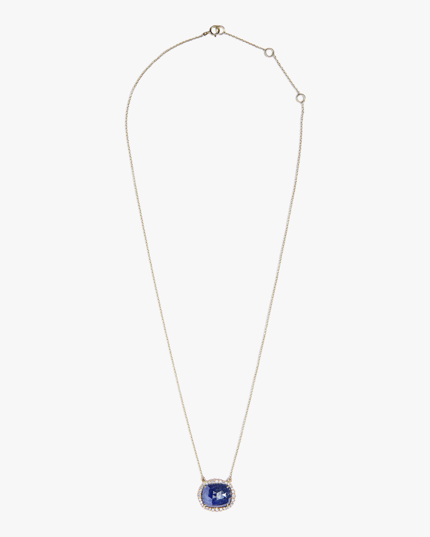 Sanjay Kasliwal Tanay Sapphire & Diamond Necklace 0
