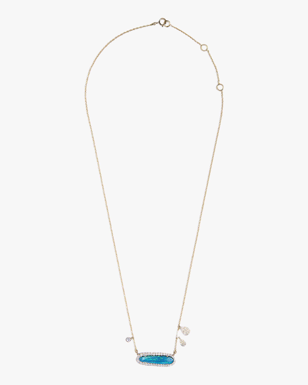 Sanjay Kasliwal Chetana Opal & Diamond Necklace 1
