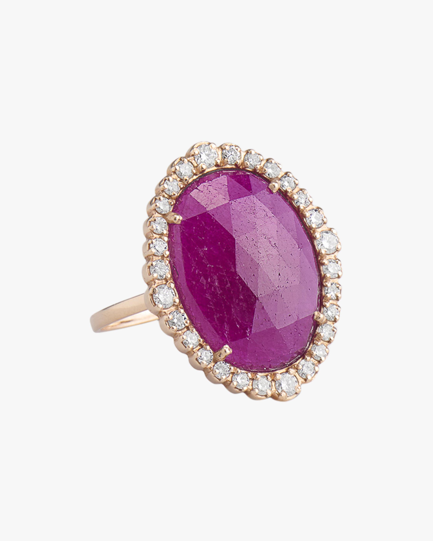 Sanjay Kasliwal Hema Ruby & Diamond Ring 0