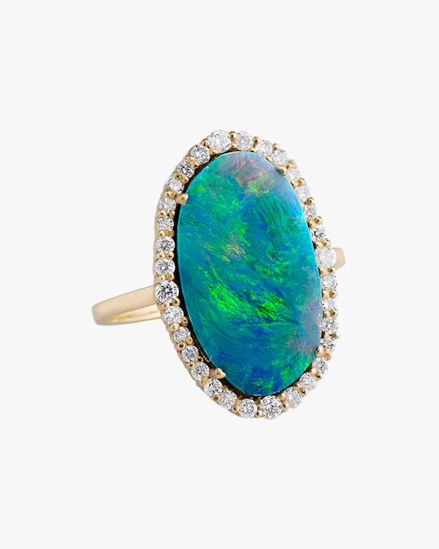 Sanjay Kasliwal Abilash Opal & Diamond Ring 0