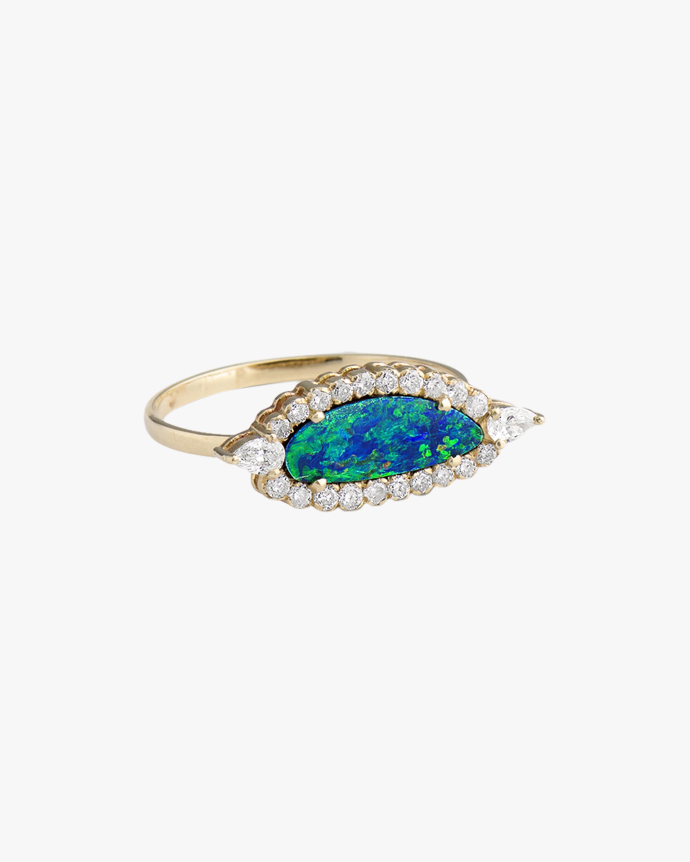 Chetana Opal & Diamond Ring