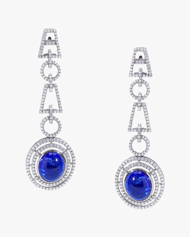 Yamini Tanzanite & Diamond Earrings