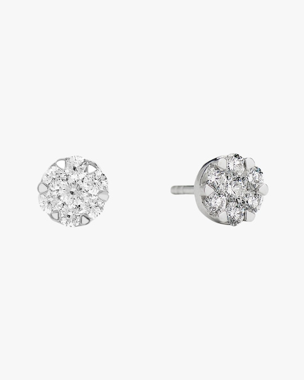 Sanjay Kasliwal Ryka Small Diamond Stud Earrings 0