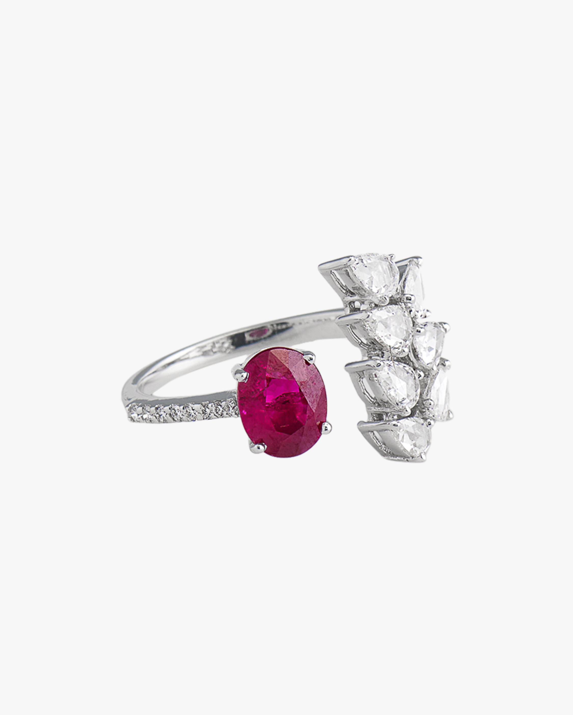 Sanjay Kasliwal Aayushi Ruby & Diamond Ring 0