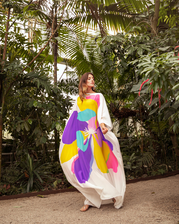 Mala Chetty Star Magnolia Kaftan 3