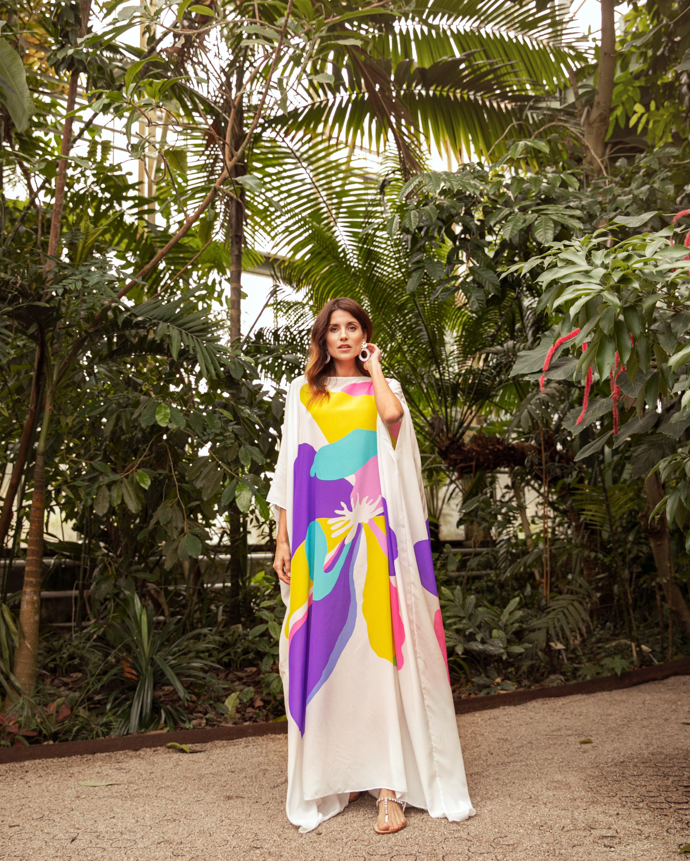 Mala Chetty Star Magnolia Kaftan 4