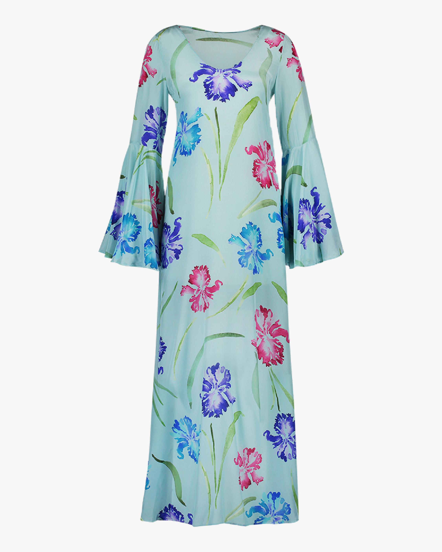 Mala Chetty Blue Bell Iris Dress 0