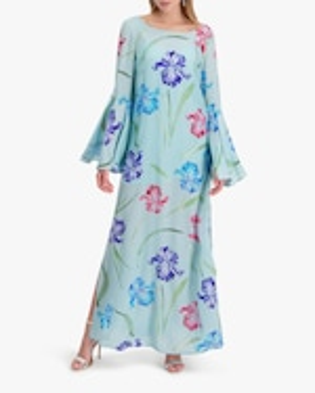 Mala Chetty Blue Bell Iris Dress 1