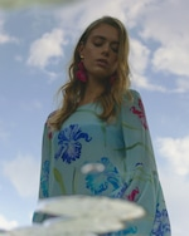 Mala Chetty Blue Bell Iris Dress 5