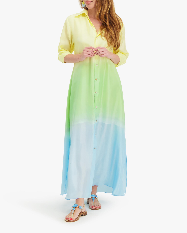 Mala Chetty Lime Blossom Dress 2