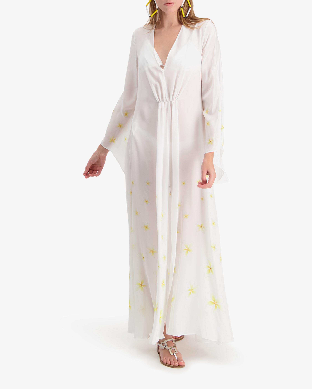 Mala Chetty Ivory Plumeria Dress 2