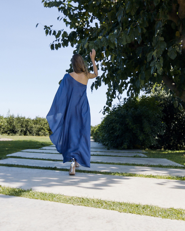 Mala Chetty Midnight Blue Dress 3