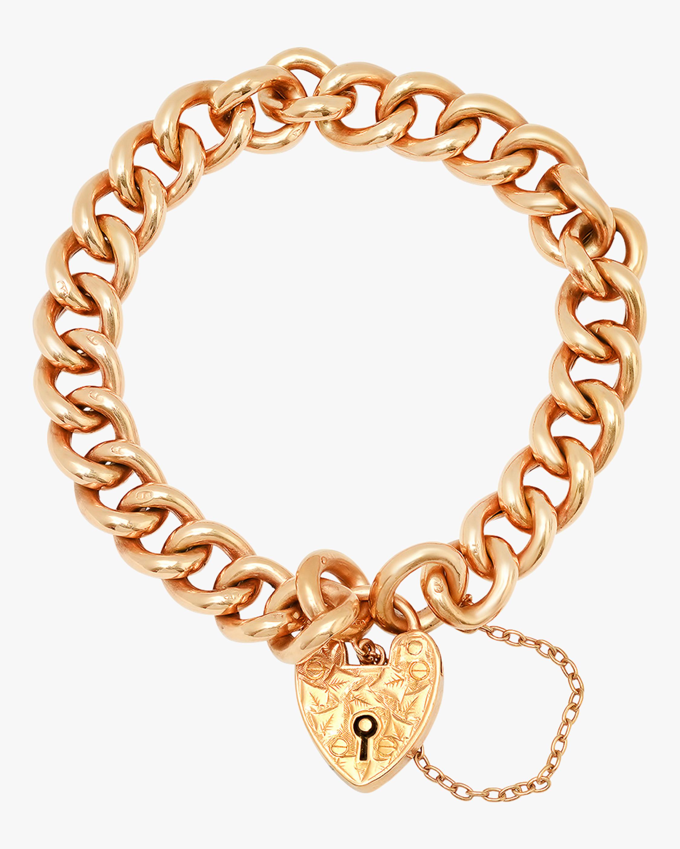Colette Jewelry Lock Chain Bracelet 0