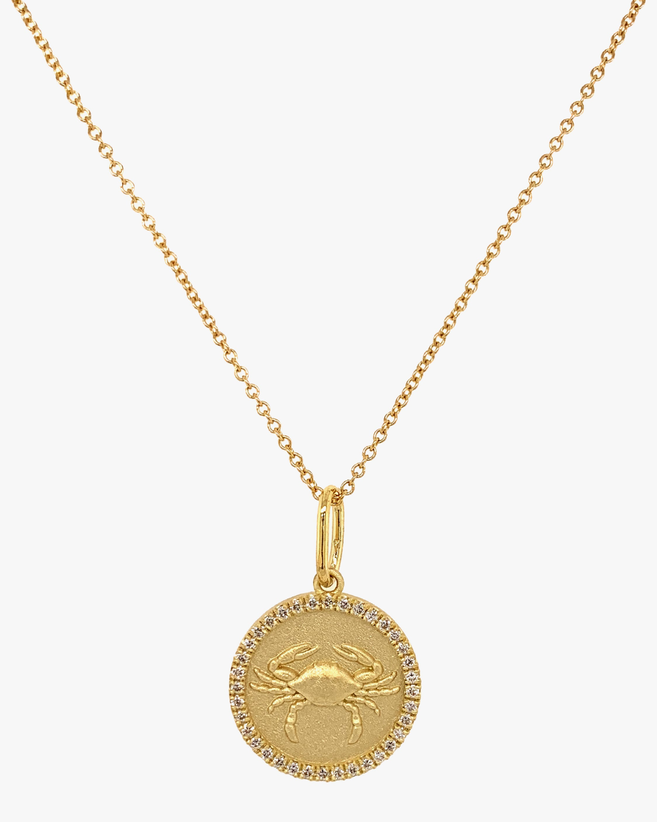 Colette Jewelry Cancer Pendant Necklace 1