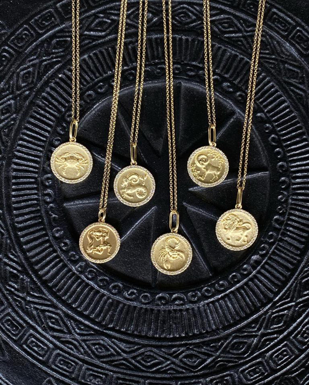 Colette Jewelry Virgo Pendant Necklace 2