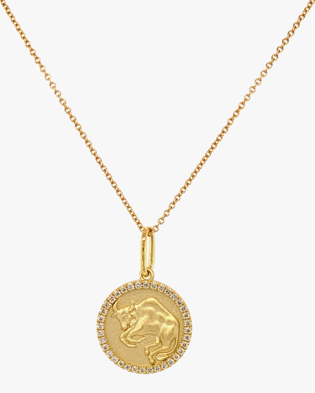 Colette Jewelry Taurus Pendant Necklace 1