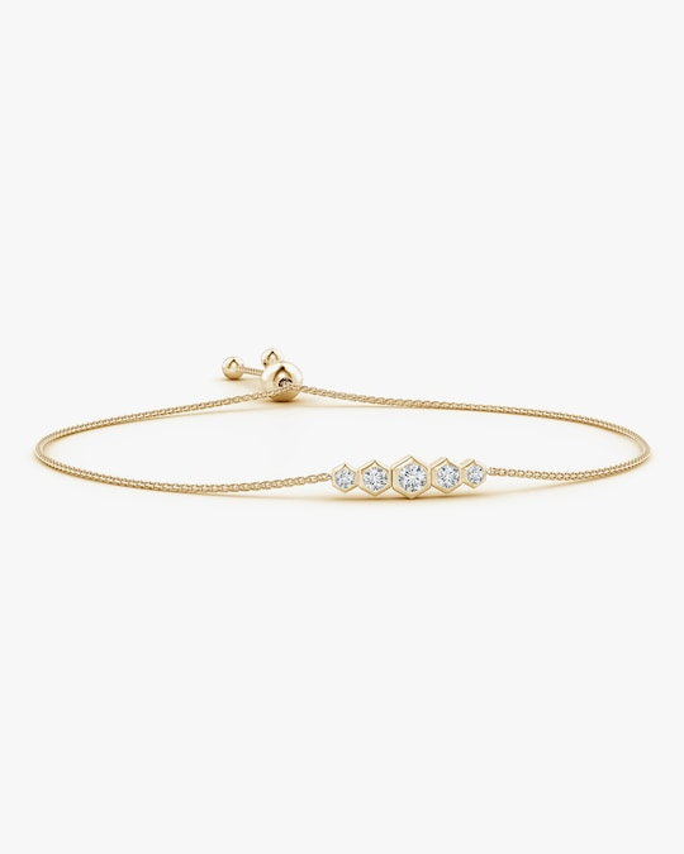 Natori Hexagonal Diamond Journey Bracelet 0