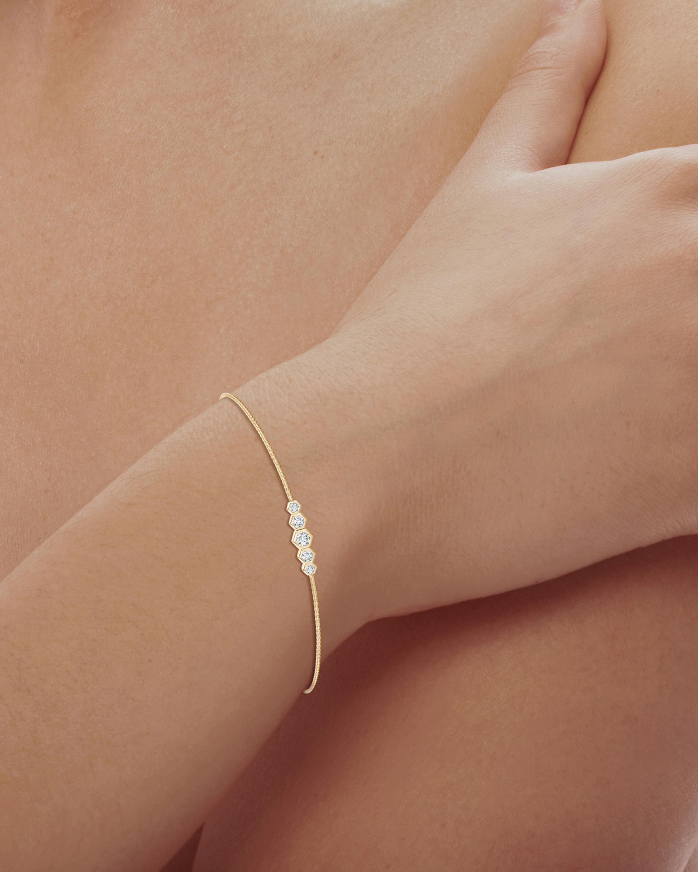 Natori Hexagonal Diamond Journey Bracelet 1