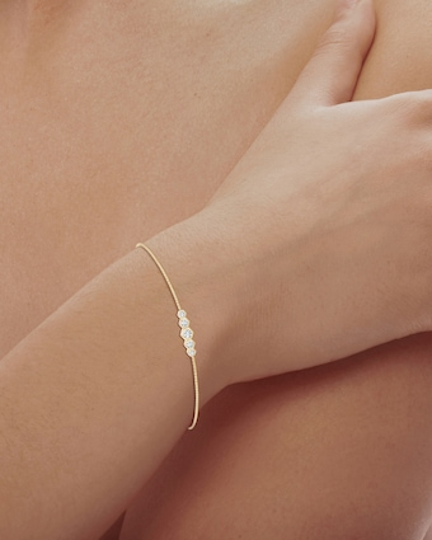 Natori Hexagonal Diamond Journey Bracelet 2