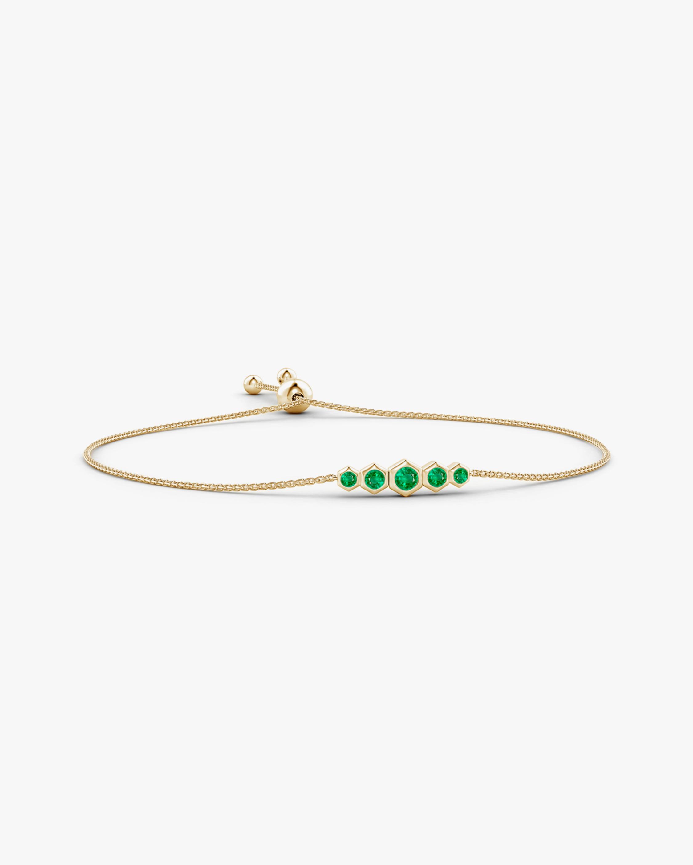 Natori Emerald Hexagon Bracelet 0