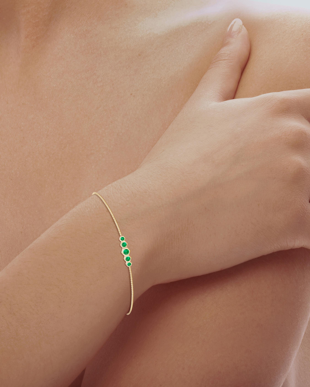 Natori Emerald Hexagon Bracelet 1